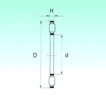 NBS K81111TN thrust roller bearings
