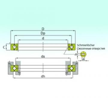 240 mm x 300 mm x 25 mm  ISB RB 24025 thrust roller bearings