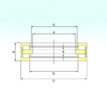 180 mm x 280 mm x 20 mm  ISB 353162 thrust roller bearings