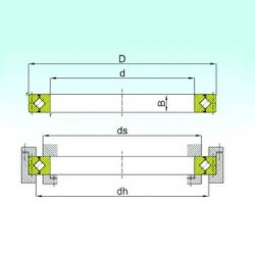 300 mm x 405 mm x 40 mm  ISB CRB 30040 thrust roller bearings