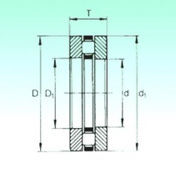 130 mm x 170 mm x 9 mm  NBS 81126TN thrust roller bearings