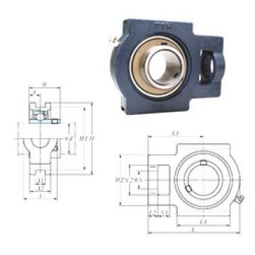 FYH UCT211-34 bearing units