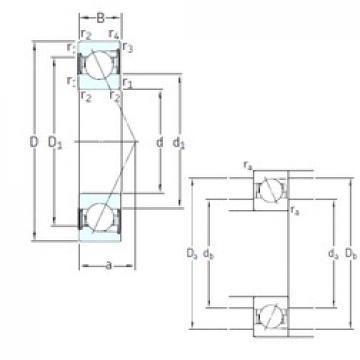20 mm x 47 mm x 14 mm  SNFA E 220 /S /S 7CE3 angular contact ball bearings