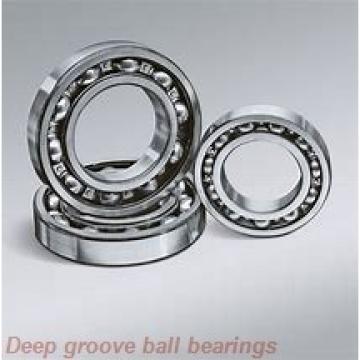 17 mm x 52 mm x 16 mm  NSK B17-101T1X deep groove ball bearings