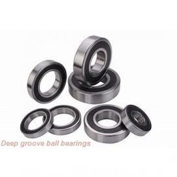 6 mm x 15 mm x 5 mm  ZEN S696-2ZW5 deep groove ball bearings