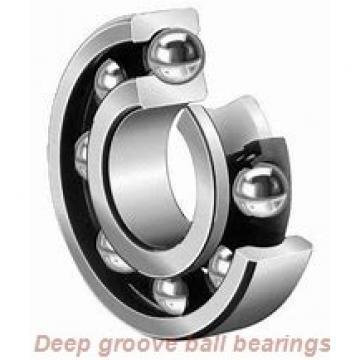 60 mm x 95 mm x 18 mm  Fersa 6012 deep groove ball bearings