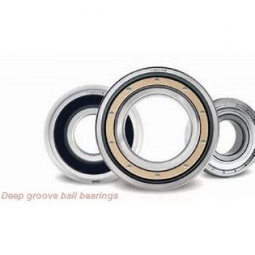 75 mm x 160 mm x 55 mm  FBJ 4315ZZ deep groove ball bearings