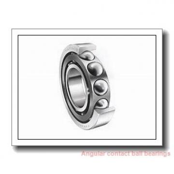 110 mm x 200 mm x 38 mm  ISB 7222 B angular contact ball bearings