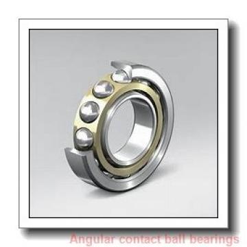 55 mm x 100 mm x 33,32 mm  Timken 5211WD angular contact ball bearings
