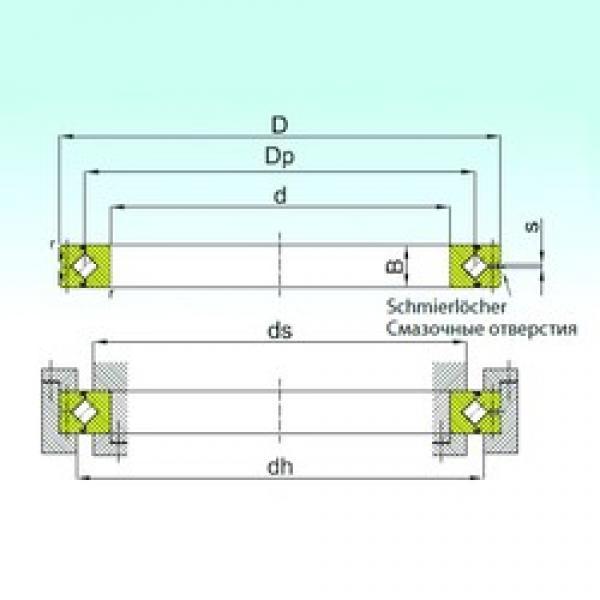 240 mm x 300 mm x 28 mm  ISB SX 011848 thrust roller bearings #1 image