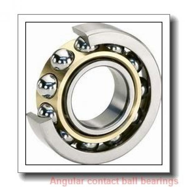 60 mm x 130 mm x 31 mm  SKF 7312 BEGBY angular contact ball bearings #1 image