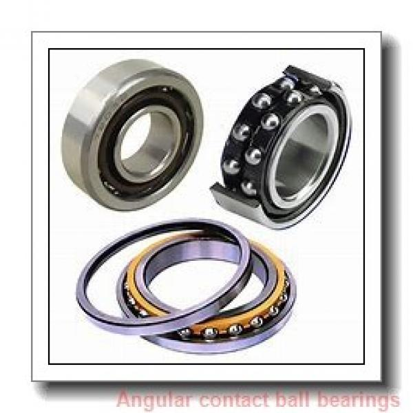 75 mm x 130 mm x 41,3 mm  NSK 5215 angular contact ball bearings #1 image