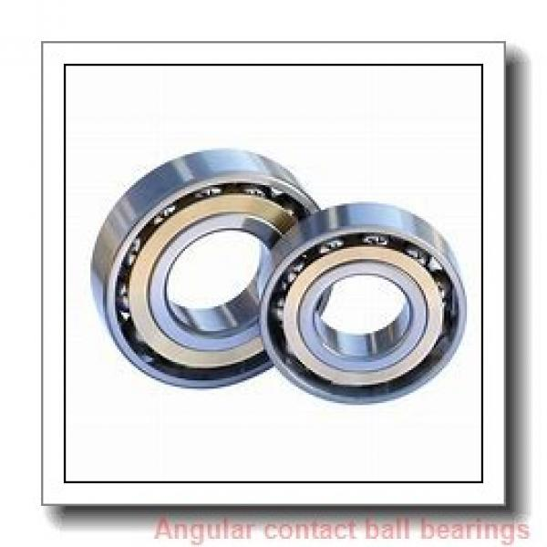 60 mm x 130 mm x 31 mm  ISB QJ 312 N2 M angular contact ball bearings #1 image