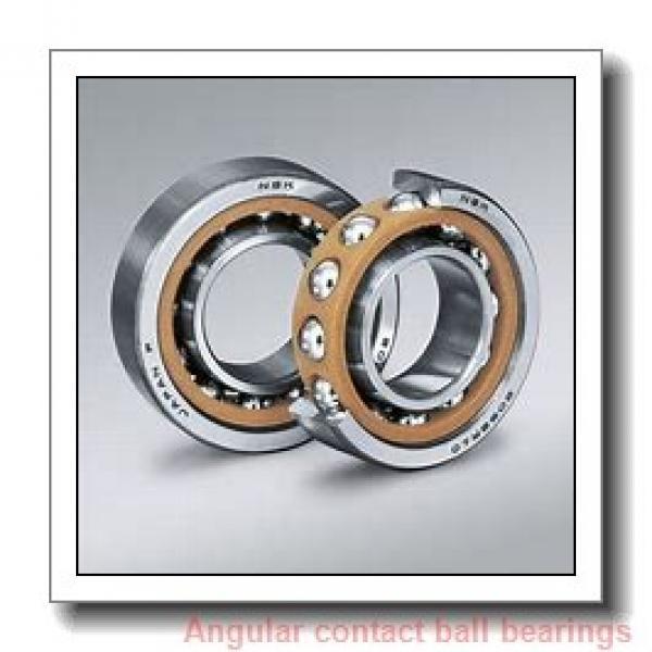 75 mm x 105 mm x 16 mm  NSK 75BNR19X angular contact ball bearings #1 image
