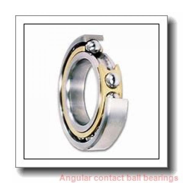 105 mm x 160 mm x 26 mm  SNR 7021HVUJ74 angular contact ball bearings #1 image